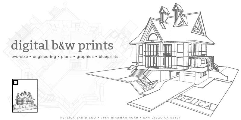 Digital B&W-Replica Printing - Replica Printing - San Diego - Copy