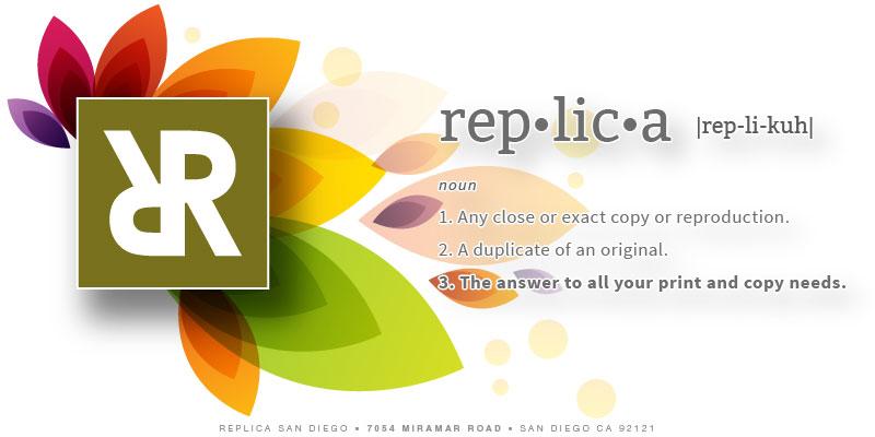 Replica San Diego - Replica Printing - San Diego - Copy
