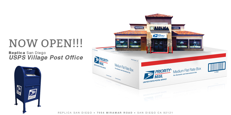 Replica_USPS Village Post Office - Replica Printing - San Diego - Copy
